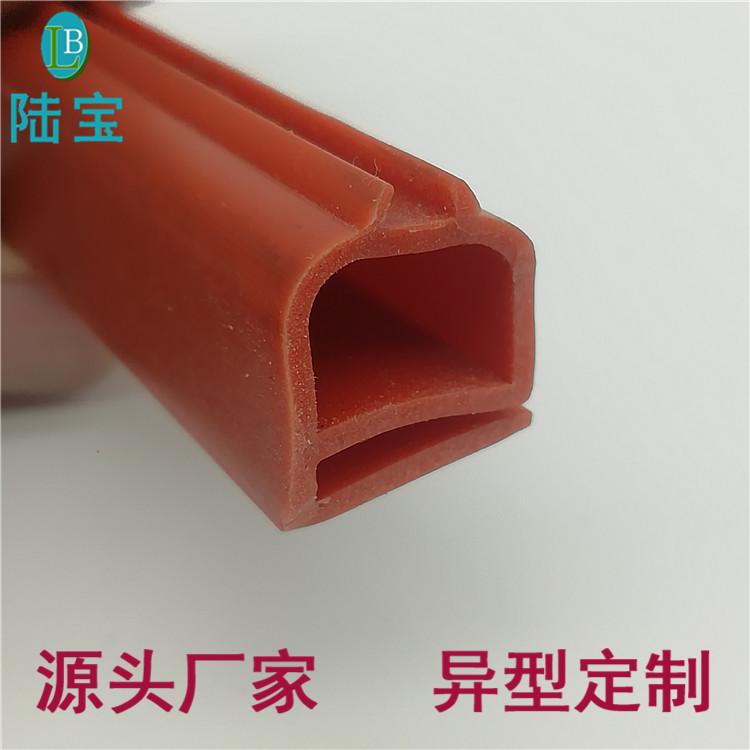 扬州三段式硅胶镀膜雨刮条